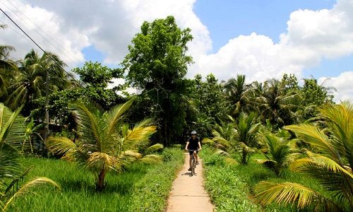 Cycling Mekong one day